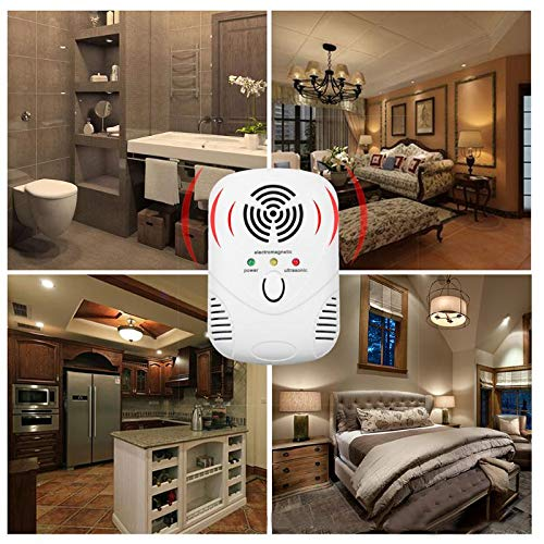 Spiders 70hz Electronic Ultrasonic Bug Killer Cockroach Trap Mosquito - Repeller Mosquito Rat Proco Electronical