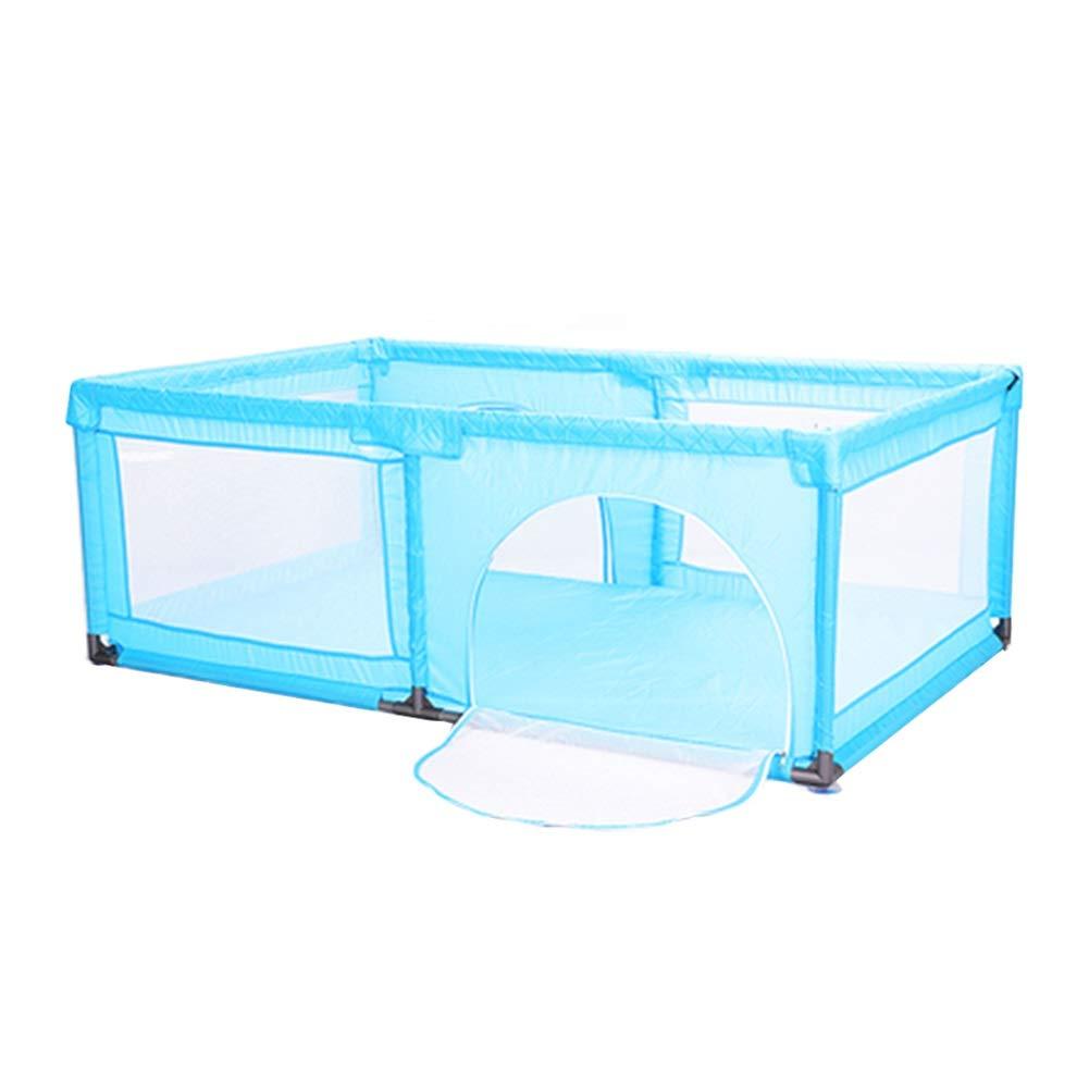 超格安一点 100ボールとクロールマット、屋内屋外の安定した幼児フェンス120×190 CMとヘビーデューティベビーベビーサークル 青 (色 (色 : 青) : 青 B07Q6QLTK3, お食い初め鯛料理の店ザフレア:451947c8 --- a0267596.xsph.ru