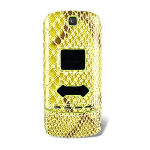 R Snap-On Cover - Alligator Green - CDMA (Krzr Cell Phone Cases)
