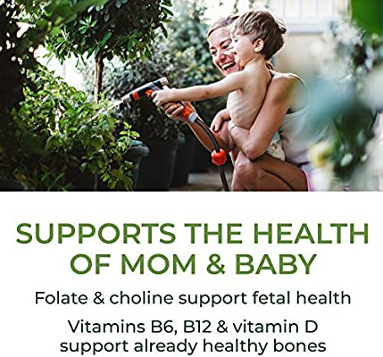 MegaFood, Baby & Me 2, Prenatal and Postnatal Vitamin, Dietary Supplement with Iron, Folate and Choline, Gluten-Free, Vegetarian, 60 Tablets (30 Servings)