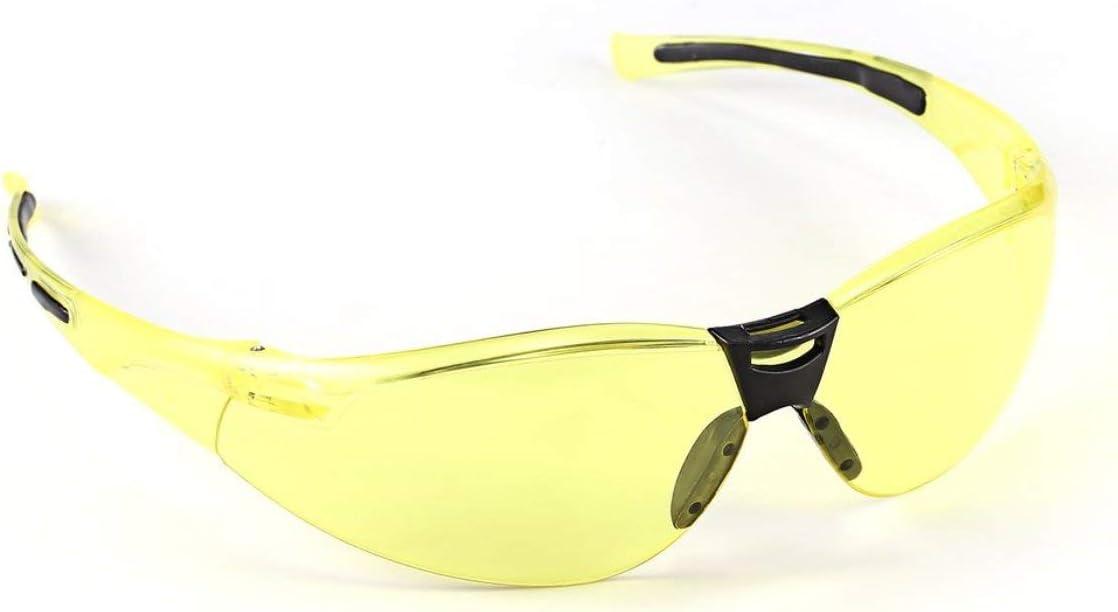 Heaviesk PC Gafas de Seguridad Protecci/ón UV Motocicleta Gafas contra el Polvo A Prueba de Salpicaduras Resistencia de Impacto de Alta Resistencia para Ciclismo de conducci/ón