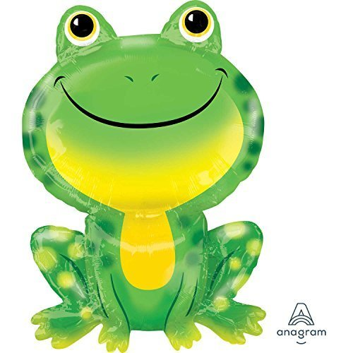 oggy Shaped Supershape Foil Balloon (Birthday Frog)