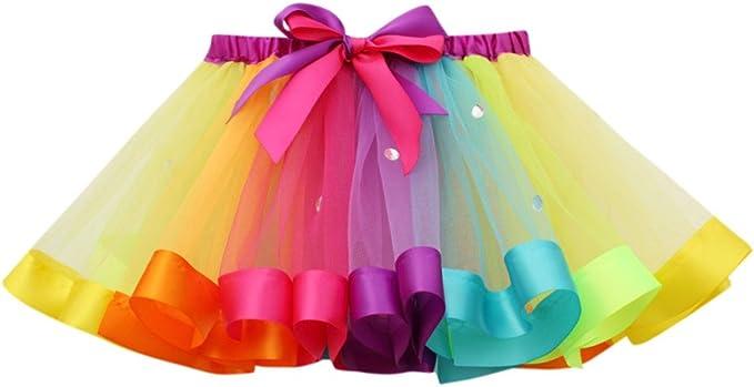 12 opinioni per Topgrowth Gonna Tulle Bambina Ragazze Tutu Festa Danza Balletto Abito Arcobaleno