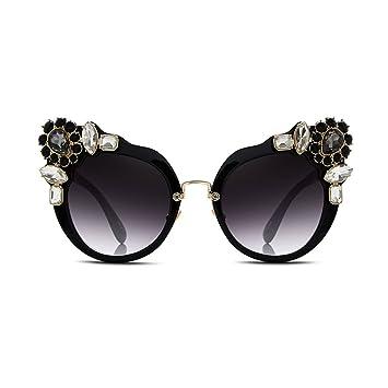 NUBAO Gafas De Sol Gafas De Sol Negras Gafas De Sol Redondas ...