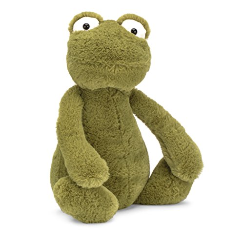 Jellycat Bashful Frog, Medium, 12 inches
