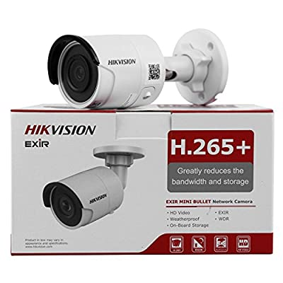 HIKVISION DS-2CD2085FWD-I 8MP IP Camera(12 VDC & PoE IP67 30m IR Built-in SD Slot H.265 3D DNR Motion Detection) from HIKVISION