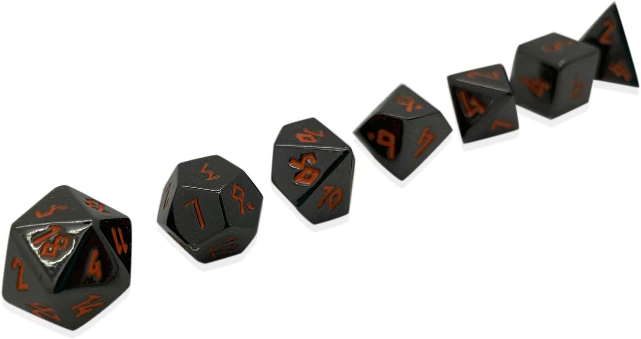 Norse Foundry Set Of 7 Black Lava Mini Metal Polyhedral 10mm Pebble Dice Rpg Math Games Dnd Pathfinder Games Accessories Toys Games Young lady we still don't have your. monetariza solucoes financeiras empresariais