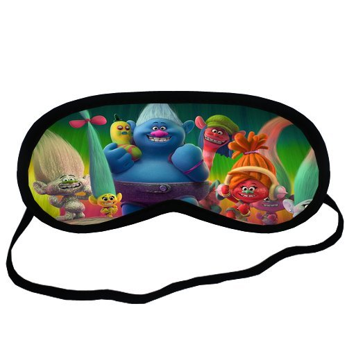 Dreamworks Trolls Blackout Sleep Mask for Tweens