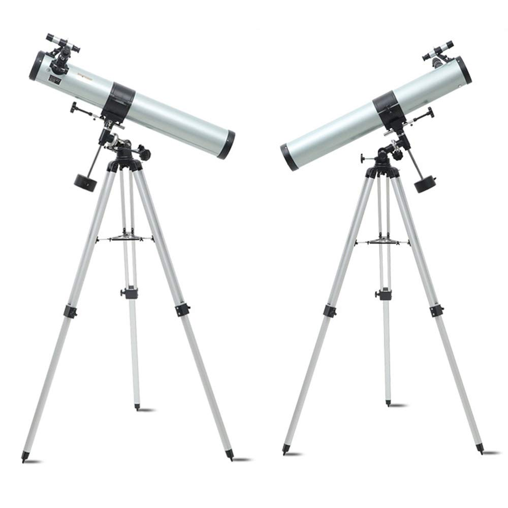 Gal Astronomical Telescope 90076EQ Professional Stargazing deep Space high-Definition high-Definition 10000 Times / 5000 Times Telescopes by Gal