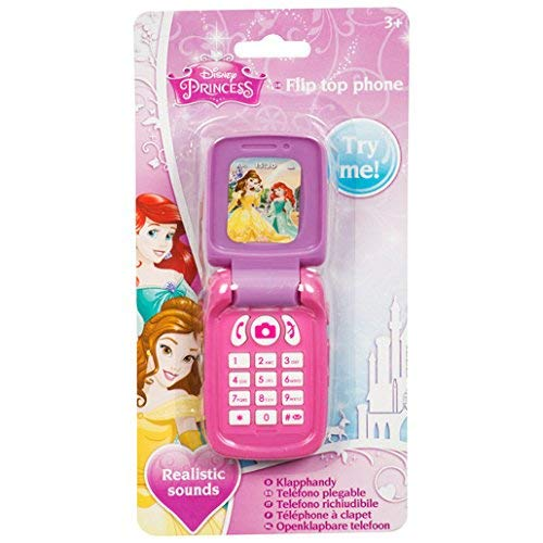 Sambro Disney Princess Cellphone Phone Belle Ariel Ages 4 and Up