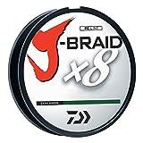Daiwa J-Braid 300M 8-Strand Woven Round Braid Line