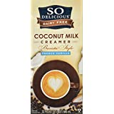 So Delicious Dairy Free Barista Style Coconut Milk Creamer French Vanilla (1 QT)