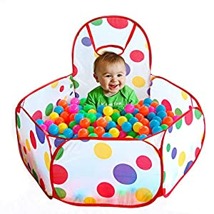 Shalleen Portable Kids Play Children Outdoor / Indoor Game Toy Tent Ocean Ball Pit Pool