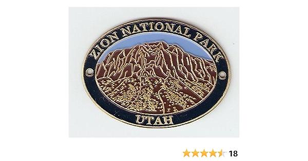Zion National Park Hiking Staff Stick médaillon Nouveau Utah