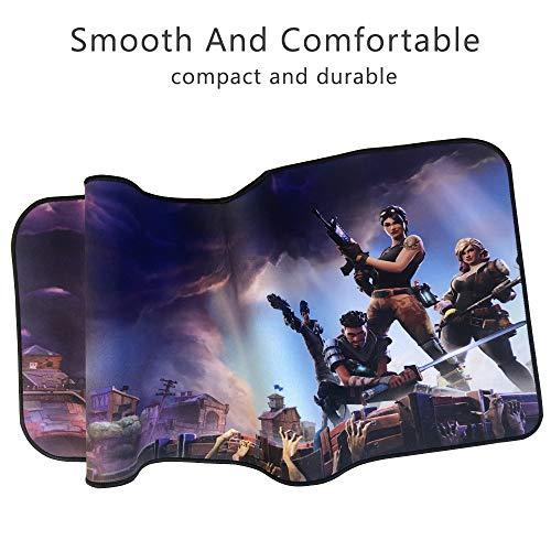 Alfombrilla de ratón Profesional para Videojuegos, diseño Personalizado, Bordes cosidos, Impermeable, Base de Goma Antideslizante, Ideal para portátil, Ordenador y PC 7