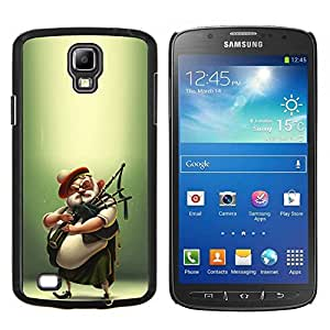 LECELL--Funda protectora / Cubierta / Piel For Samsung Galaxy S4 Active i9295 -- Scottish jugador de la gaita Kilt Hombre --