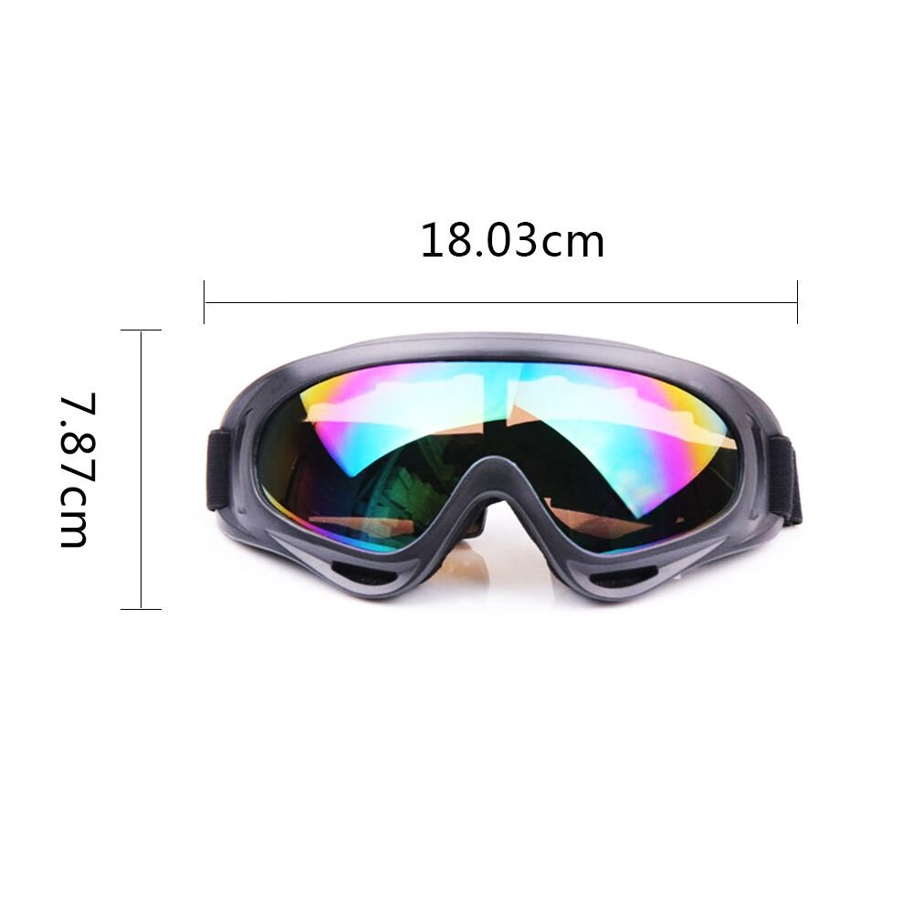 f4d3e9d319d BornFeel Ski Goggles 2 Pack Skate Glasses with UV400 Protection Dust-proof  Windproof Anti-Glare Lenses ...