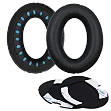 ALXCD Replacement Earpad Ear Pad Cushions for Bose QuietComfort 2 QC2, QuietComfort 15 QC15, QuietComfort 25 QC25, QuietComfort 35 QC35, SoundTrue,AE2, AE2i, AE2w Headphone (1 Pair)