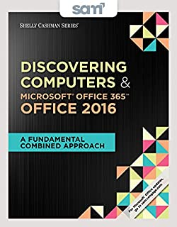 Bundle Shelly Cashman Series Discovering Computers Microsoft Office 365 2016 A