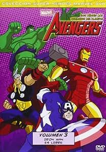 Los Vengadores: Los Héroes Más Poderosos Del Planeta Volumen 3 [DVD]