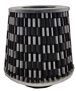 universell Eufab 17432 Sport-Luftfilter McKita mit 6 Adaptern dunkelrot