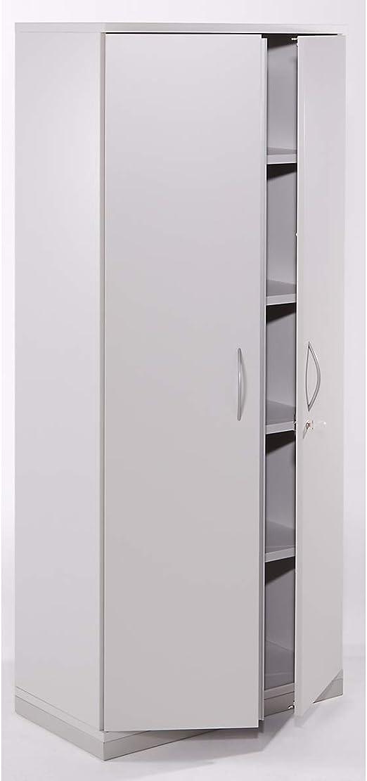 THEA alas Puerta Armario – 4 estantes, 5 pisos de archivadores ...