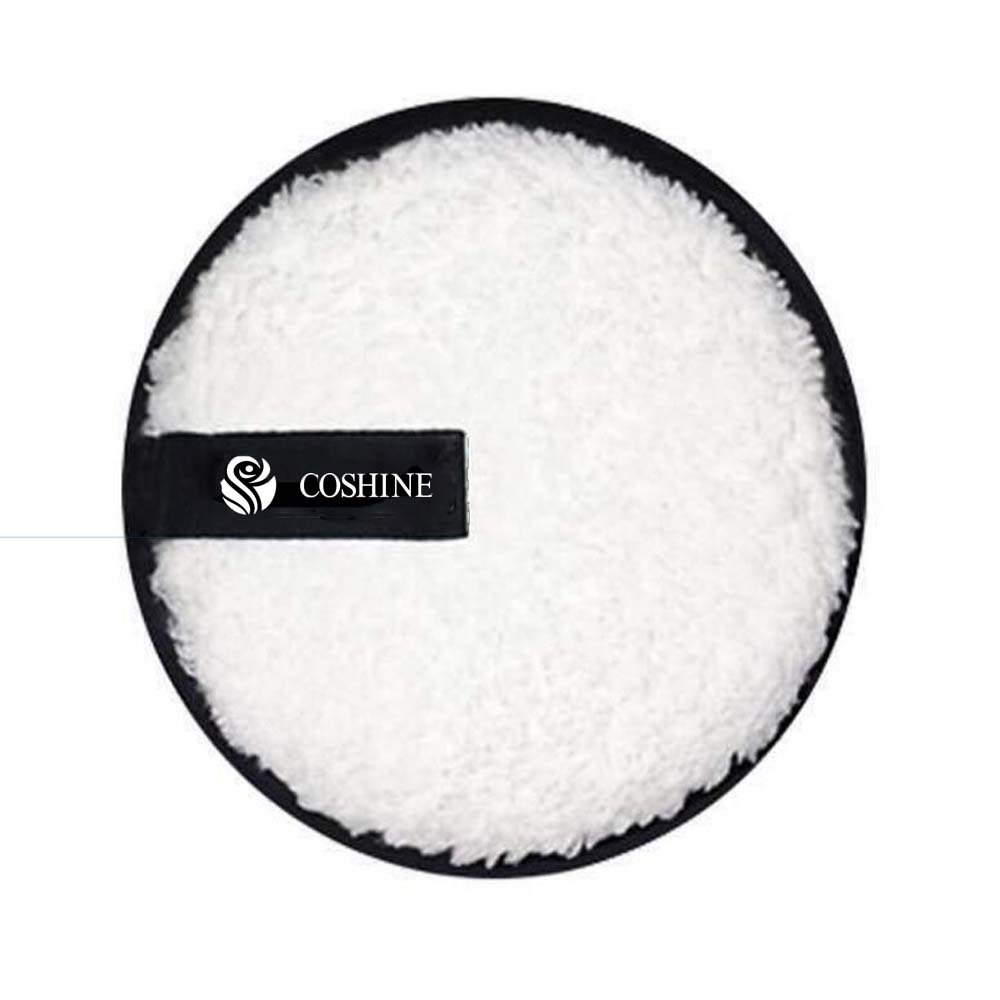 Coshine Makeup Removal Cookie Puff, Face Eraser Removing Cleaning Puff (1piece)