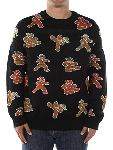 Men's Ginga Ninja Christmas Sweater by Tipsy Elves