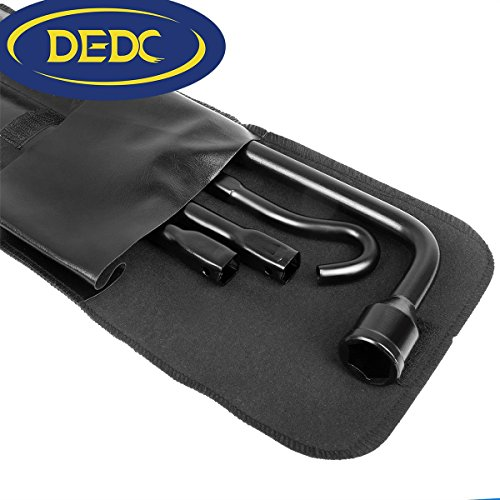 DEDC Ford F150 Tire Tool Kit Premium Spare Tire Tool Replacement Kit Include Bag Spare Tire Tool Kit fit for 2004-2014 Ford F150 by DEDC (Image #1)