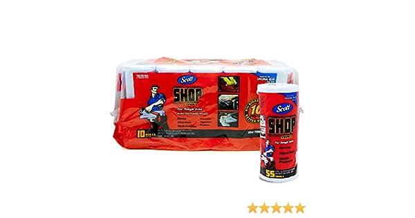 Amazon.com: Scott Shop Towels 10-pack 55 Towels Per Roll, 11
