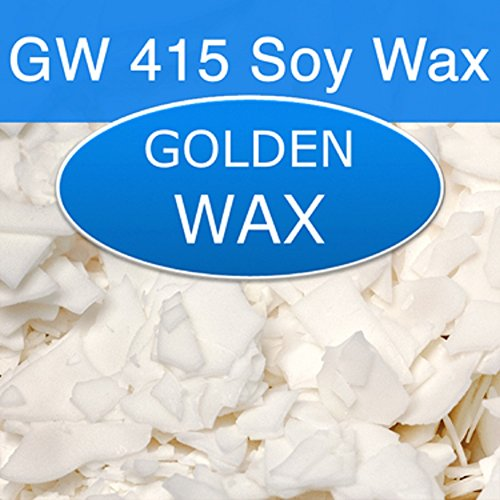 Golden Brands Natural Soy 125 (415) Wax - 50 Pound Bag by Golden Foods