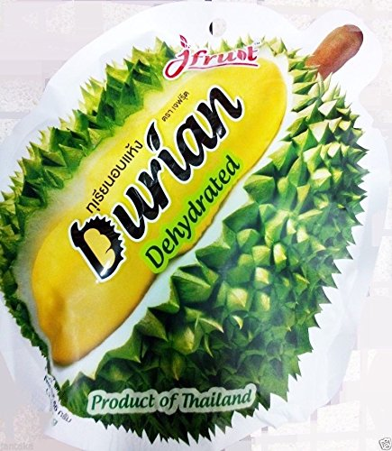 THAI FRUIT DURIAN SNACK FOOD NATURAL HEALTHY DELICIOUS FREEZE DRIED (Trader Joe's Halloween Candy)