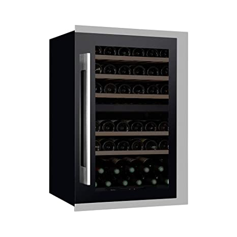 Pevino - Nevera de vino integrada (48 botellas), color negro ...