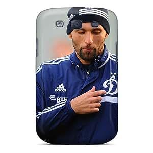High Grade Ajephke Flexible Tpu Case For Galaxy S3 - Dynamo Goalkeeper Vladimir Gabulov
