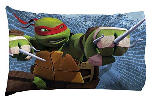 Nickelodeon Teenage Mutant Ninja Turtles Gnarly Royal Green/Gray Cotton/Polyester Standard 20