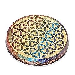 Orgonite Crystal Water Charging Plate Chakra