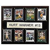 NFL St. Louis Rams Kurt Warner 12x15-Inch 8-Card Plaque