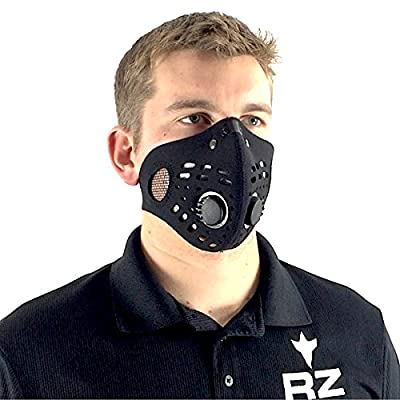 RZ Mask Bonus Pack w/5 filters, Model M1, Black, Size Regular