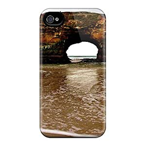 Zheng casePremium Iphone 4/4s Case - Protective Skin - High Quality For Beach Arch