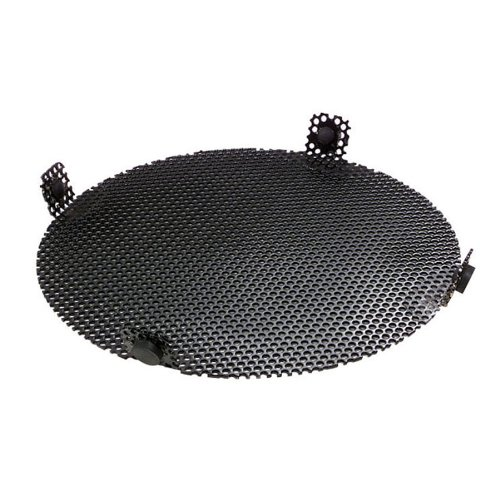 Fine Screen for New Pig Drum Funnel, For 13'' Dia Poly Burpless Funnels, 9'' Diameter, .125'' Dia Mesh Opening, Black, DRM948