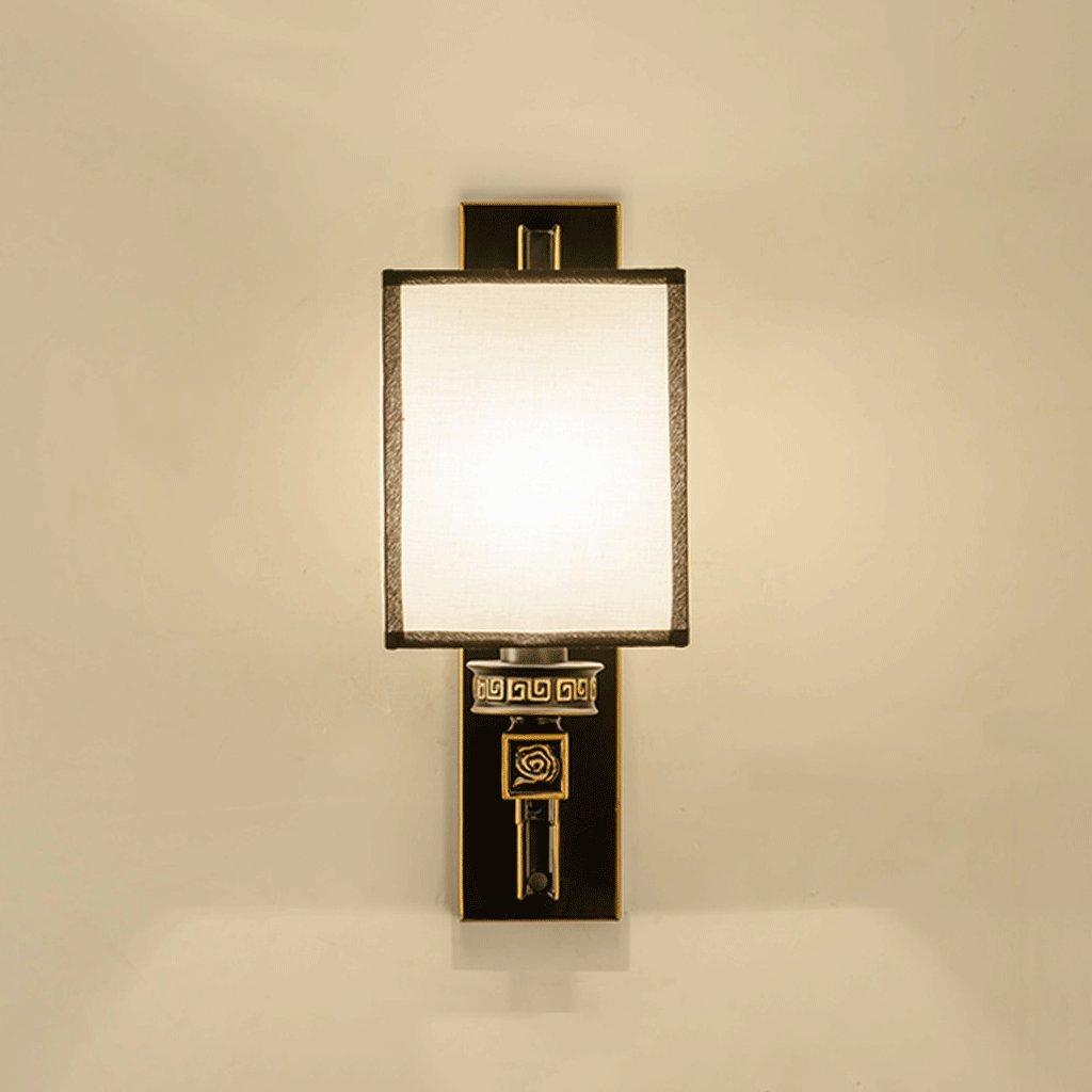 prezzi equi DNSJB Lampada Lampada Lampada da parete classica da parete in tessuto cinese  più economico