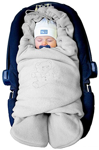 Fleece Pram Blanket - 1