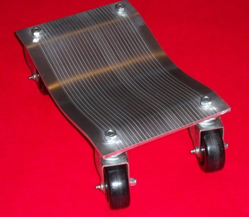 Car Dolly - Aluminum Car Dollys - 10'' x 16'' - 3'' Casters - Set of 2