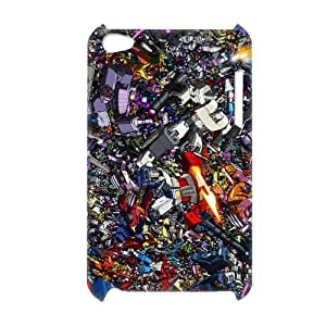 3D Print Classic Comics Series&The Transformers Theme Case Cover for iPod Touch 4 - Personalized Hard Back Protective Case Shell-Perfect as gift