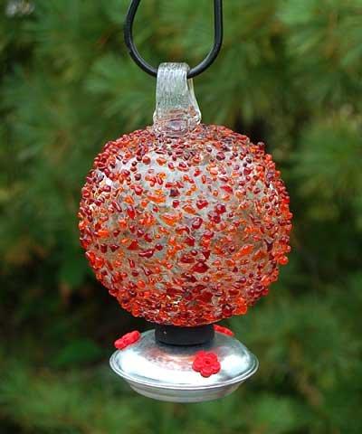 - PARASOL Dew Drop Hummingbird Feeder, Cinnabar Sprinkles