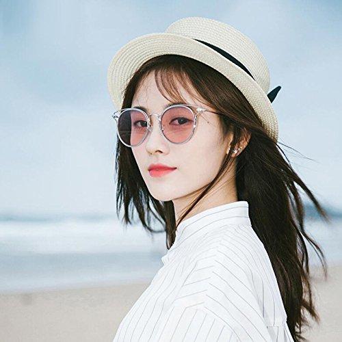 libre nuevas Opcio de Gafas excursionista Gafas UV para sol Gafas polarizadas de Vintage Personalidad Regalo aire de mujer Protección UV400 sol de de de conducción Protección Gafas Powder Frame sol al sol Estrella Silver A OwqAOzxRt