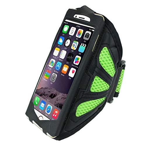(Gift ! WensLTD For iphone 7 4.7/5.5 Inch Premium Sports Workout Running Armband Case Cover (iphone 7, Green))