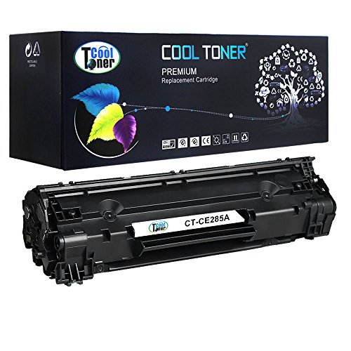 Cool Toner 1 Pack 1,600 Pages Compatible Toner Cartridge Replacement For HP 85A CE285A CE285 Used For HP LaserJet Pro P1102W P1102 M1212NF M1217NFW MF3010 M1210 M1132