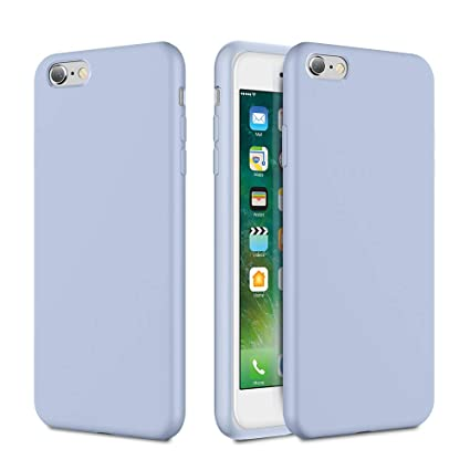 Amazon.com: Caka iPhone 6 Funda, iPhone 6s Liquid Silicona ...