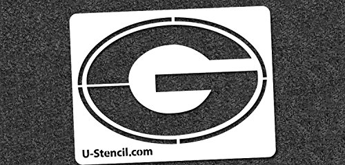 NCAA Georgia Bulldogs 06110 Mini Stencil Craft Kit 11 x 14.5 inches by U-Stencil